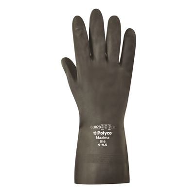 Mediumweight Natural Rubber Glove
