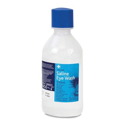 250ml Saline Eyewash Solution
