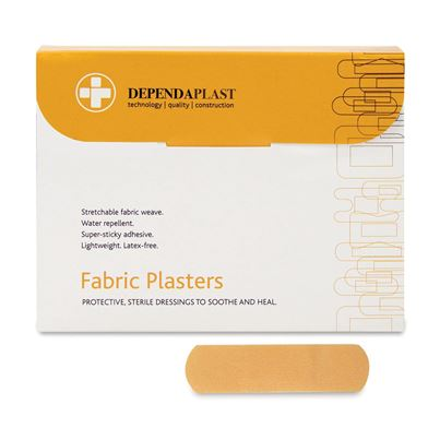 Fabric Extra Wide Strip Plasters (X100)