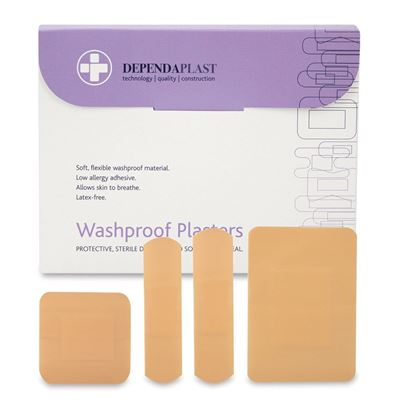 Washproof Assorted Plasters (X100)