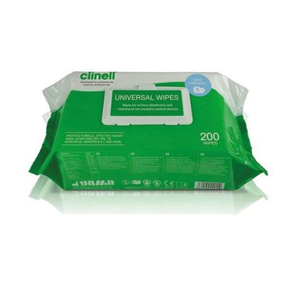 Clinell Sanitising Wipes (X200)