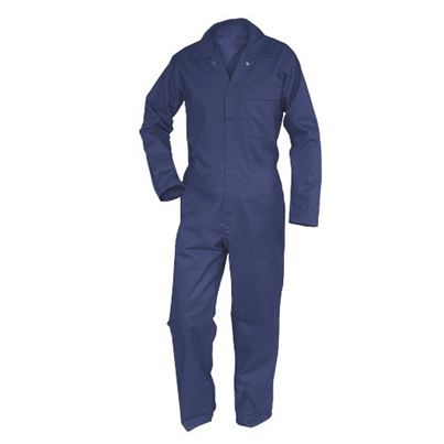 Flame Retardant Overall With Rule Pocket