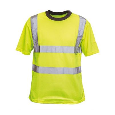 Economy Summer High Visibility Polyester T-Shirt