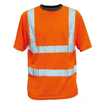 Economy High Visibility Polyester T-Shirt