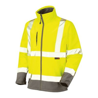 High Visibility Breathable Softshell Jacket