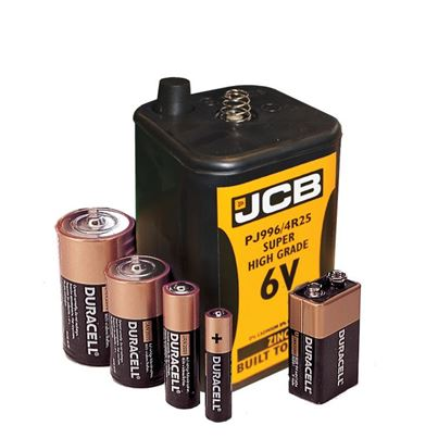 AAA Batteries (X4) Non-Rechargeable
