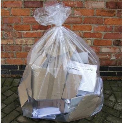 Clear Refuse Sacks 18x29x38 (X200)
