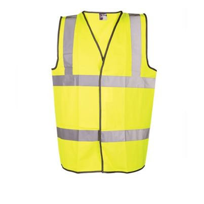 Fr High Visibility Yellow Waistcoat
