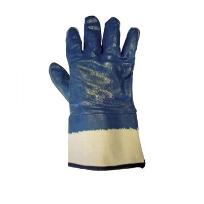 Nitrile Heavy Safety Cuff Glove