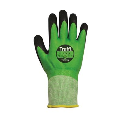 TraffiGlove Double Dipped Thermal Cut F Glove