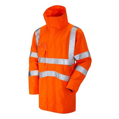 High Visibility Premium Waterproof Breathable Coat