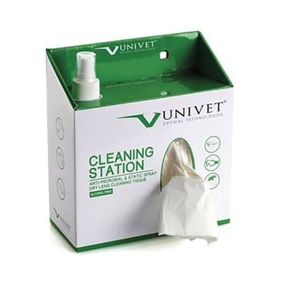 UNIVET Lens Cleaning Station