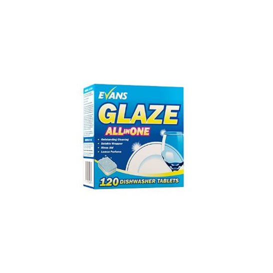 Glaze All In One Dishwasher Tablets X120
