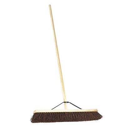 "24"" Platform Broom With Handle And Stay"
