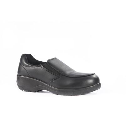 VIXEN Ladies Leath Lined  Safety Shoe with Midsole
