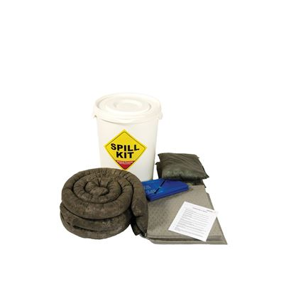 Maintenance Spill Kit – (In Plastic Container)