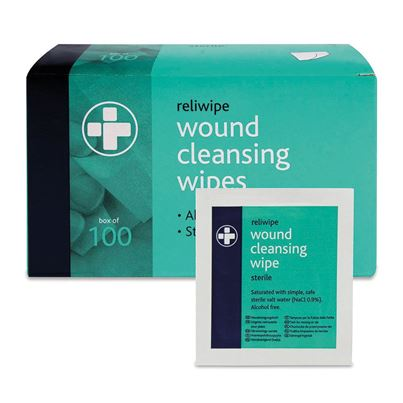 Alcohol Free Wipes (X100)