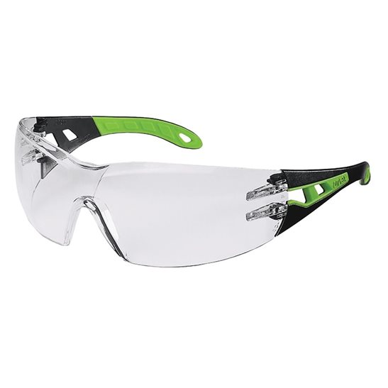 Uvex Clear Pheos Safety Spectacles