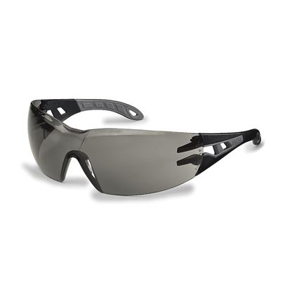 Uvex Grey Pheos Safety Spectacles