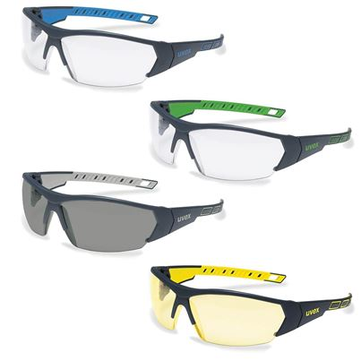 Uvex i-works Clear Safety Spectacles