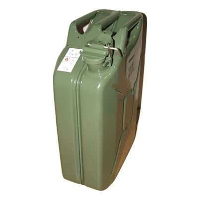 Metal Fuel Jerry Can