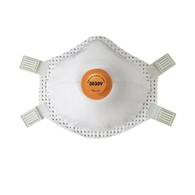 Disc Valved Disposable Mask Ffp3v (X5).