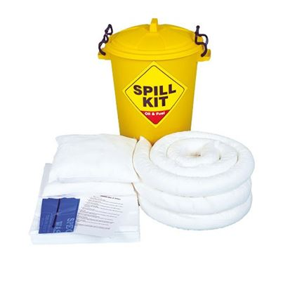 Oil Only Spill Kit – (In Plastic Container)