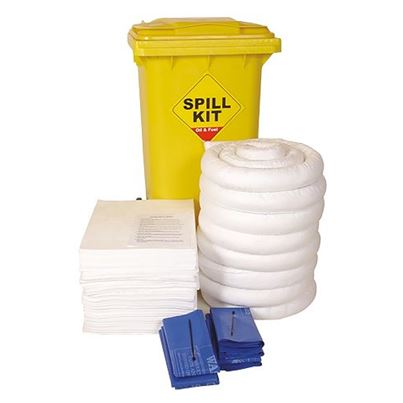 Oil Only Wheeled Spill Kit