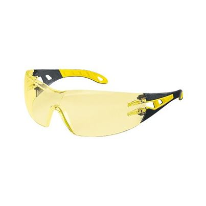 Uvex Amber Pheos Safety Spectacles