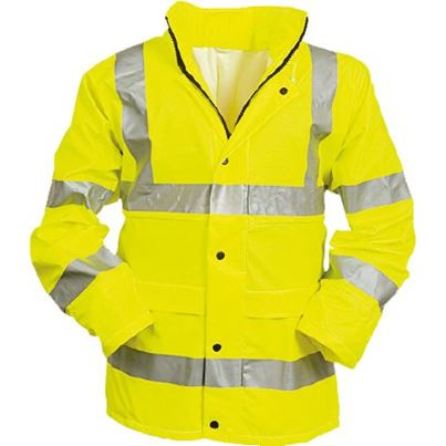 High Visibility Waterproof Breathable Jacket