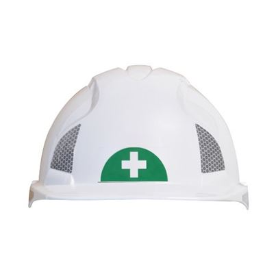 First Aid Helmet Stickers (X12)
