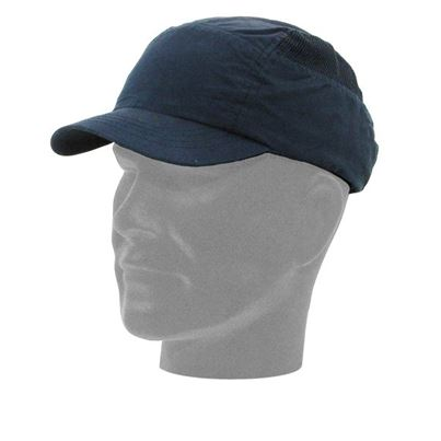 Safety Baseball Cap With Reduced Peak