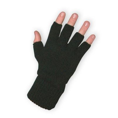 Fingerless Acrylic Glove