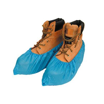 Disposable Polythene Overshoes (X100)