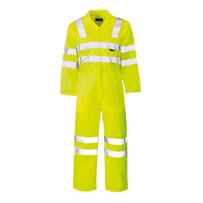 High Visibility Polycotton Coverall