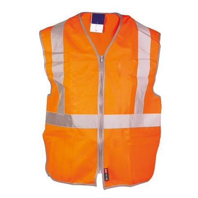High Visibility 3-Part Zipped Waistcoat
