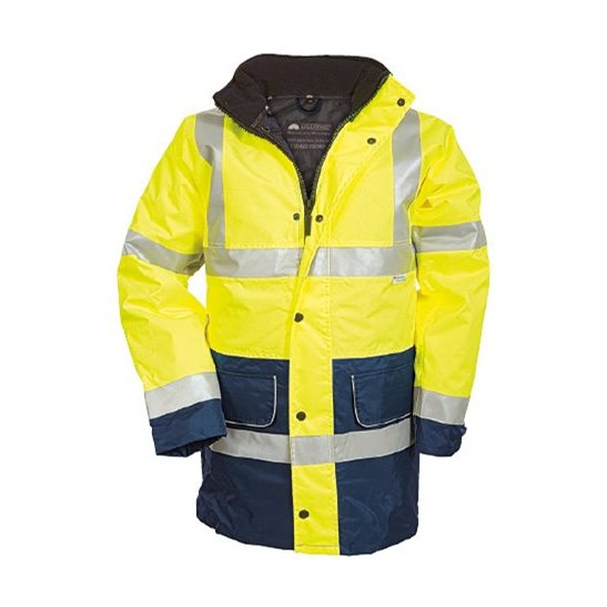 High Visibility Waterproof Two Tone Coat