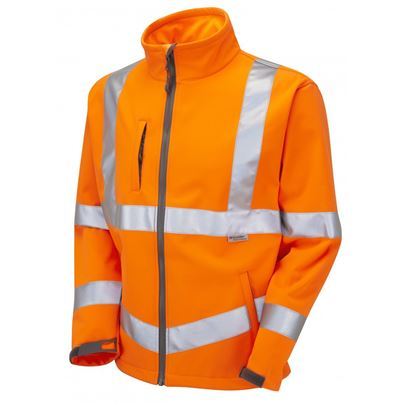 Millstone High Visibility Breathable Softshell Jacket