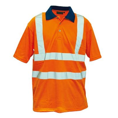 Millstone High Visibility Polyester Polo Shirt
