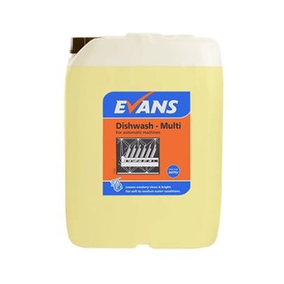 Evans Dishwash Multi Liquid (X2)