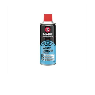 3 In 1 White Lithium Spray Grease