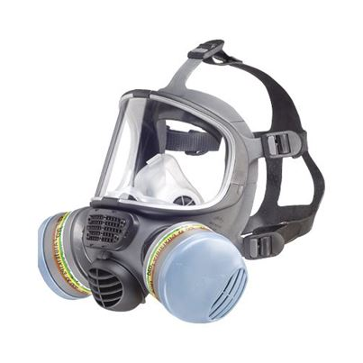 Scott Full Face Twin Filt Pro 2 Respirator (Mask)