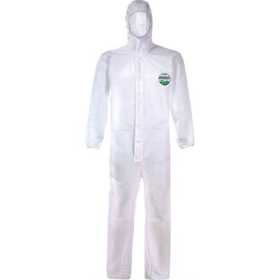 Disposable Type 5 And 6 Protective Coverall