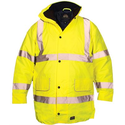 Millstone High Visibility Waterproof Coat