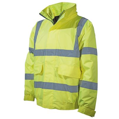 Millstone High Visibility Waterproof Bomber Jacket