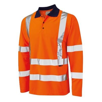 Millstone Long Sleeved High Visibility Polo Shirt
