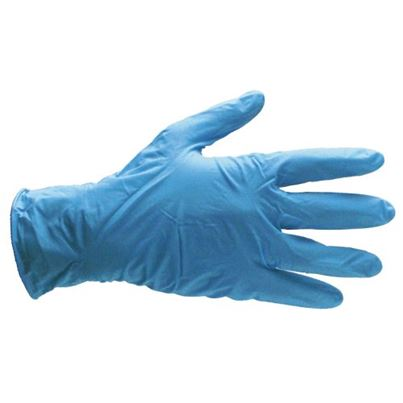 Gloves - Blue Nitrile Disposable (x100)