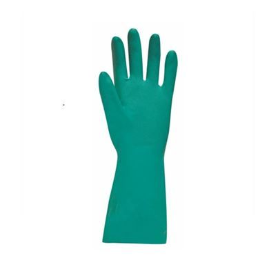 Gloves - Green Nitrile Industrial (EN374-5 )