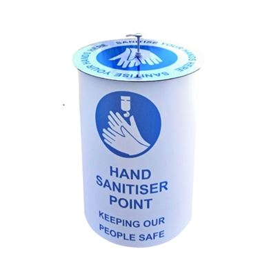 Customisable Hand Sanitiser Station