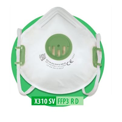 FFP3 Valved Dust Mask (x10)